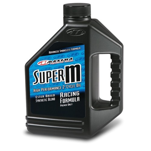 Maxima Super M 2 Stroke High Performance Racing Oil - 1.89L