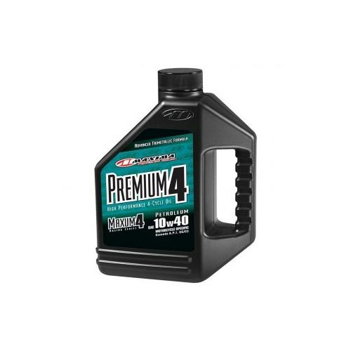 Maxima 10w40 Maxum-4 Premium  4 Stroke Oil - 4L