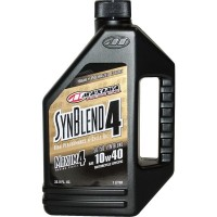 Maxima 10w40 Maxum-4 Syn Blend 4 Stroke Oil Semi Synthetic - 1L