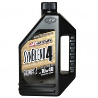 Maxima 10w40 Maxum-4 Syn Blend 4 Stroke Oil Semi Synthetic - 4L