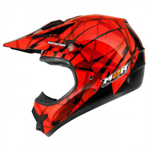 M2R X2.6 Linear Red PC-1 Helmet