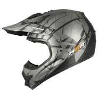 M2R X2.6 Linear Matt Black PC-5F Helmet