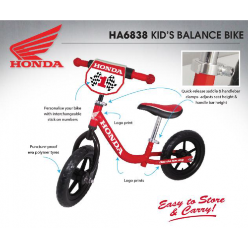 Honda Kids Balance Bike