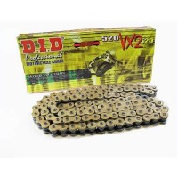 DID 520 VX2 X-Ring Chain - 120 Link Gold