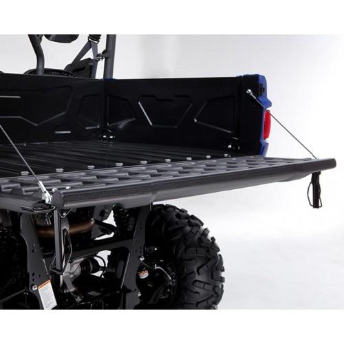Pallet-sized rear cargo bed