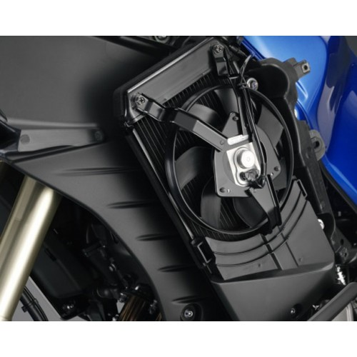 Side mounted radiator