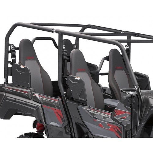 4 full-size high-back seats