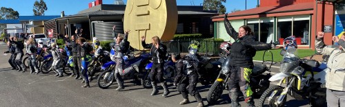 Mother and daughter team up on Ride ADV's women-only ride