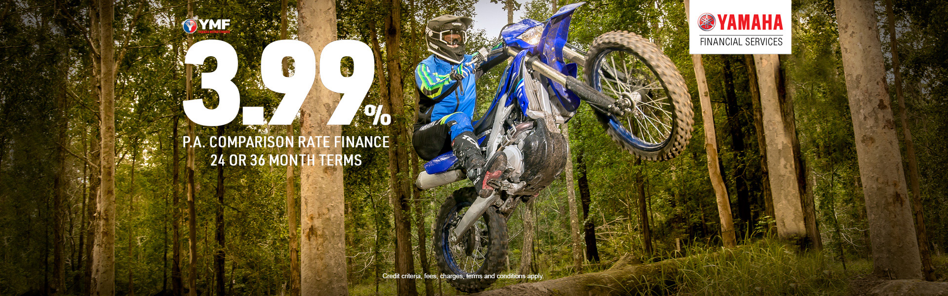 Born to Ride Finance Offer